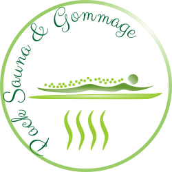Logo pack sauna et gommage corps