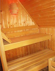 Sauna du salon